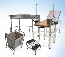 Mobiliario Médico de acero inoxidable