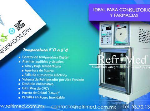 refrigerador para farmacias