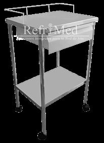 mesa-pasteur de acero inoxidable
